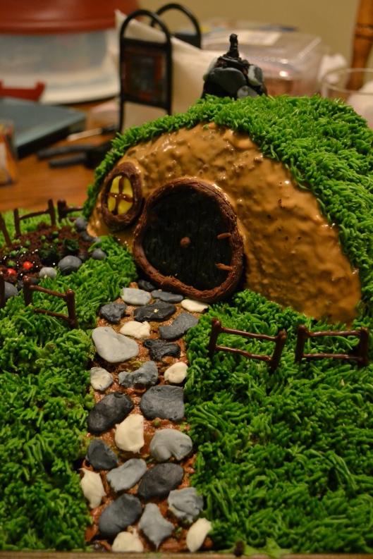 Hobbit Hole Cake Hobbit Hole Cake