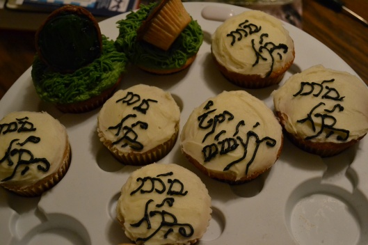 Hobbit Lord of the Rings cupcakes
