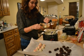 dipping truffles