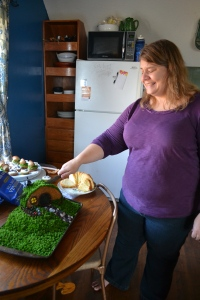 Cutting the Hobbit cake