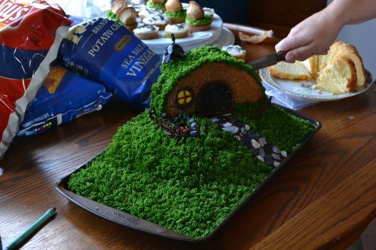 Farewell Hobbit Cake