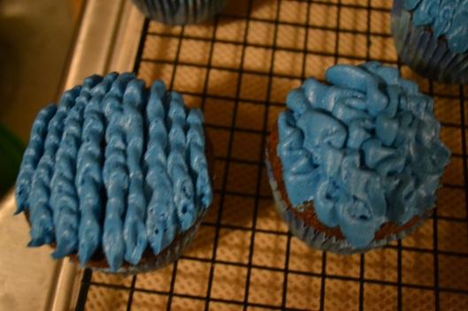 settlers of catan cupcake ocean