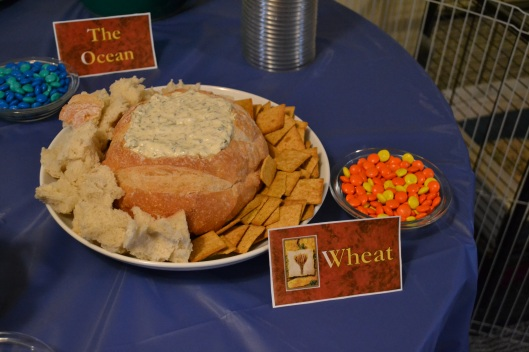 catan party wheat theme