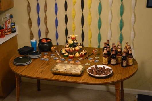 Harry Potter Party Table