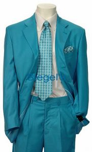 turquoise suit wedding